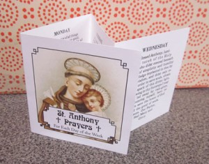 St. Anthony Prayers