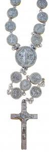 St. Benedict Medal Bead Rosary