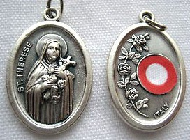 St. Therese Third Class Relic Medal