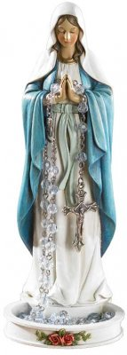 Blessed Virgin Rosary Holder