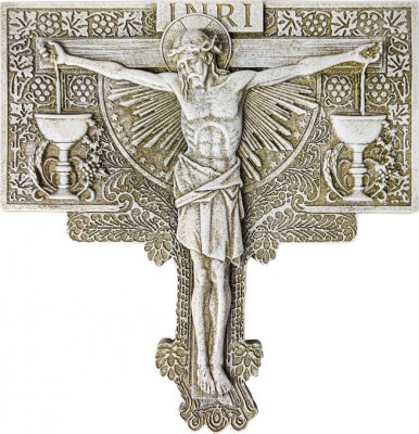 Crucifixion Garden Plaque Indoor/Outdoor