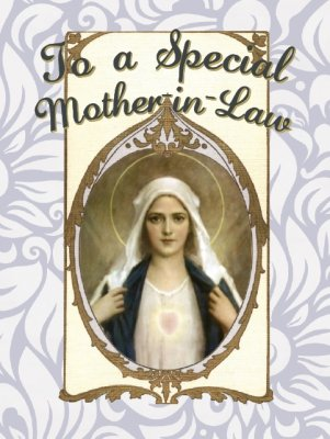 To A Special Mother-in-Law Greeting Card
