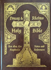 Douay-Rheims Haydock Bible